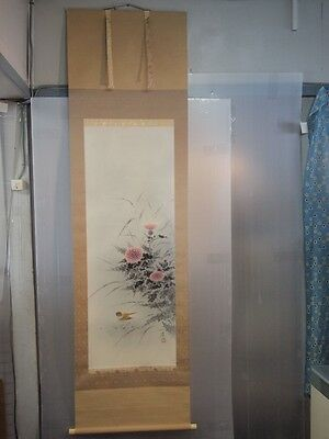Japanese Antique Hanging Scroll  Boxes