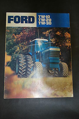 Ford TW-10 TW-20 TW-30 brochure, 16 pages