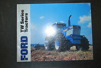 Ford TW Series Tractors brochure, TW-5, TW-15, TW-25, TW-35, 24 pages