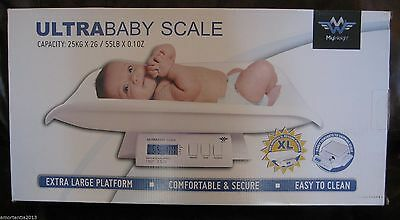UltraBaby Baby Scale Ultrascale with Power Adapter NIB