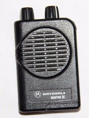 Motorola Minitor IV A03KUS7239AC 2 Channel VHF High Band 151-158.9999 MHz PagerY