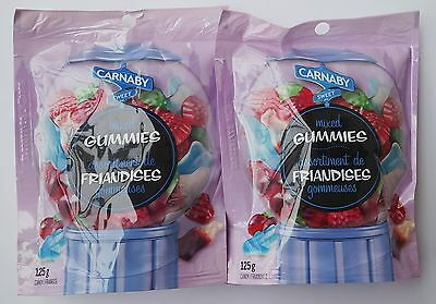 Carnaby Sweet Mixed Gummies Candy 125g x 2