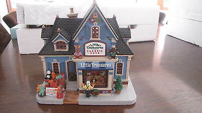 """MIB Lemax """" Little treasures TOys"""" porcelain house with Aussie light. in Foam"""