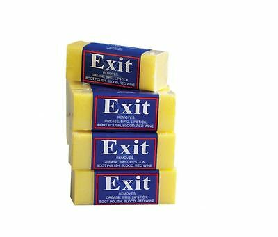 EXIT SOAP STAIN REMOVER Blocks 50g x5 Australian Made 100%