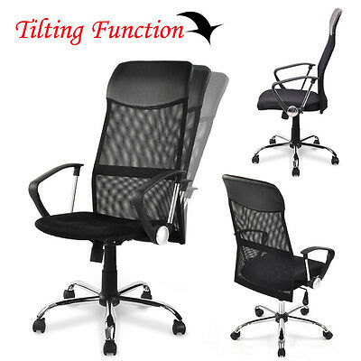 Mesh Task Office Chair Computer Desk Chair Home High Back Swivel 3 Colors NEW
