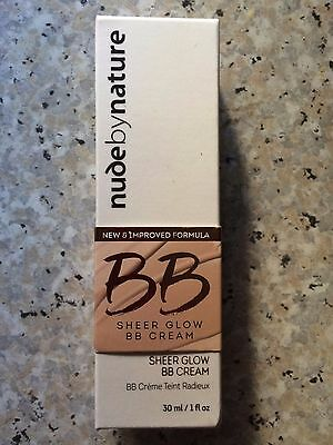 Nude by Nature New & Improved BB Sheer Glow BB Cream 30mls (BNIB)
