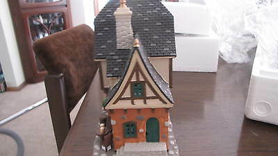 """MIB Lemax YE Olde Tavern"""" porcelain house with Aussie light. in Foam"""