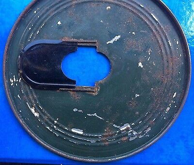 Vintage Chainguard/oil Bath Plates & Chainring Cover-4 Pieces,in Good Condition