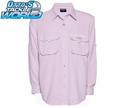 Shimano Womens Vented Lilac Fishing Sun Shirt BRAND NEW at Otto's Tackle World