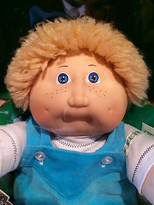 Vintage 1982/83 Coleco Cabbage Patch Kid 'Clint Maury' MIB Blonde/Blue
