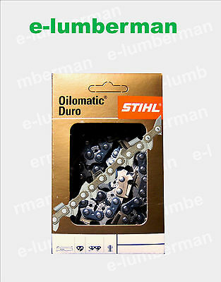 Stihl Picco Duro 3 , Rapid Duro 3  Select The Chain From The Drop Down Boxes
