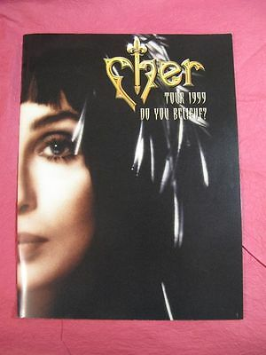 "Cher Tour Book - ""Do You Believe"" tour - 1999. TOUR CONCERT PROGRAM BOOK"