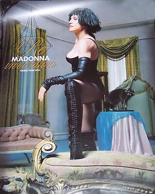 Limited Edition 18X24 poster from Madonna's 2004 Re-Invention World Tour