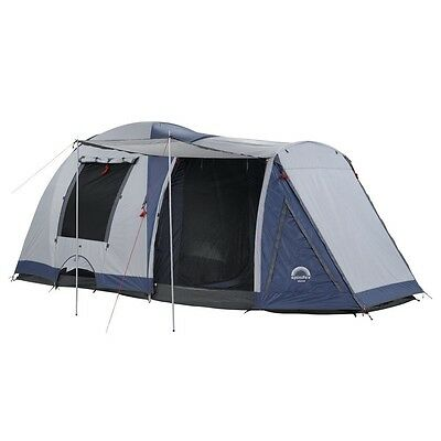 Spinifex Huon Geo Dome Tent (OzTrail Breezeway Family Dome) 6 person, 2 rooms