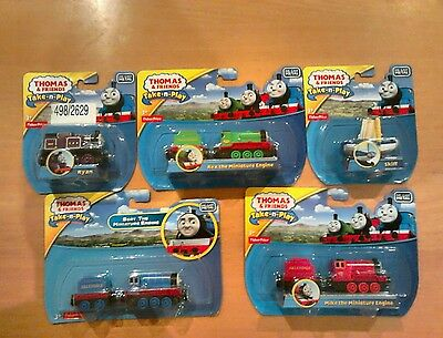 Thomas and Friends legend of the lost treasure take n play 5 trains