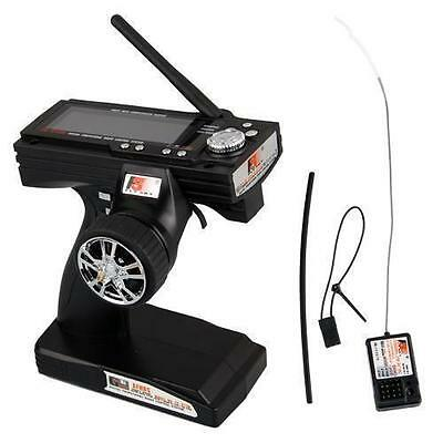 Flysky FS-GT3B 2.4G 3CH Transmitter With Receiver Fail-Safe For RC Car Boat New@