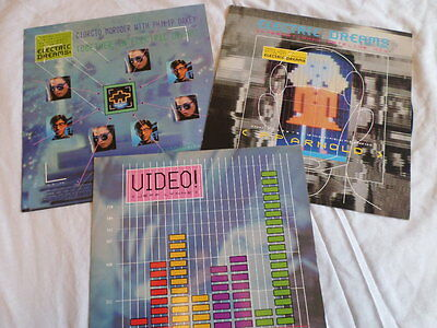 """ELECTRIC DREAMS VINYL HEAVEN 12"""" and 7"""" from the film"""