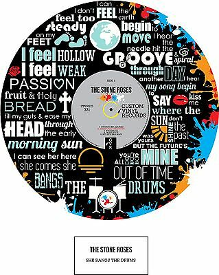 STONE ROSES - MEMORABILIA - Print - Limited Edition - An Ideal Gift