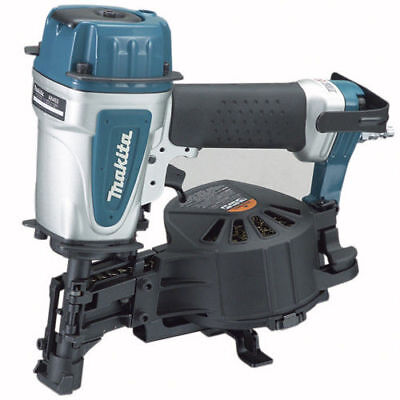 """Makita 15 Degree 3/4"""" - 1-3/4"""" Coil Roofing Nailer AN453-R Reconditioned"""