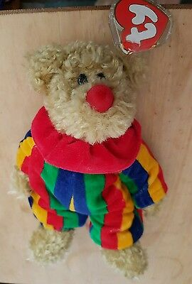 Ty the attics treasure collection jointed bear Picadilly  with tag and protector