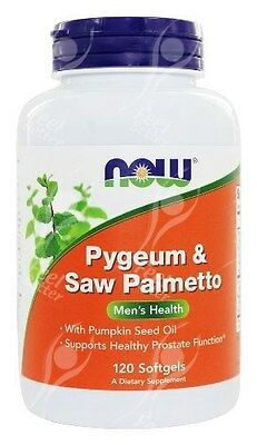 Now Foods, Pygeum & Saw Palmetto, Men's Health - x120 Softgels