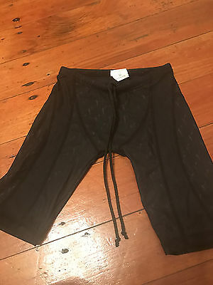 Boys/Mens size 30 FINIS technical racing trunks black  RRP $150