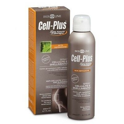 Cell Plus Alta Definizione Spray Anticellulite E Snellimento 200 Ml