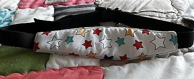 Unisex Baby Car Seat Head Support Excellent Condition And Very Cheap Stars