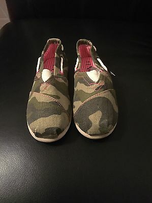 Girls New Next Army Espadrilles Size 10