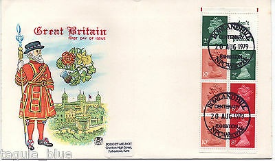 GB Stamps 20-8-1979 Definitive Booklet pane First Day Cover sgX849la