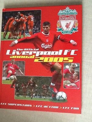 Official Liverpool Annual 2005