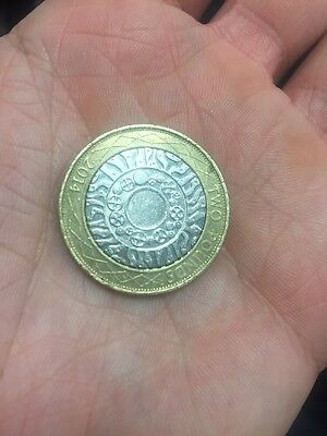 £2 Coin 2014 Standing On The Shoulder Of Giants