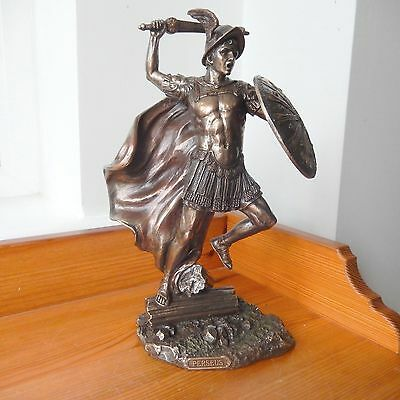 PERSEUS Mythological Greek Bronze Figurine Ornament Sculpture
