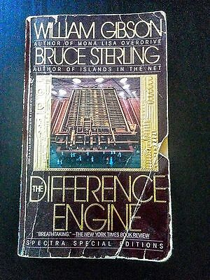 The Difference Engine by William Gibson & Bruce Sterling (Classic Steampunk)