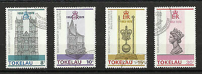 Tokelau - 1978 Coronation set - Good used