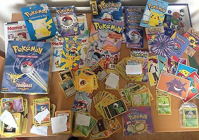Pokemon original cards, Magazines and More From Approx 1998/99 Approx 1000 Cards
