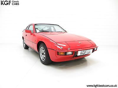An Incredible Porsche 924 Lux Coupe with One Owner and Just 16,985 Miles.