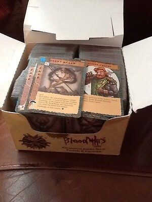 Blood Wars Cards Over 600 Some Duplicates About 120 Unique Job Lot
