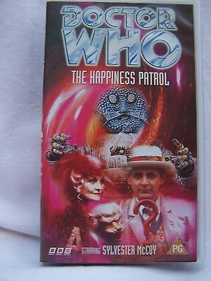 BBC V 5803 VIDEO DOCTOR WHO THE HAPPINESSPATROL. STARRING SYLVESTER McCOY