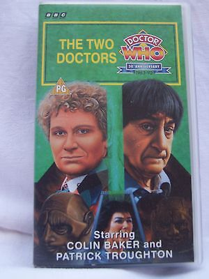 Bbc V 5148 Video Doctor Who The Two Doctors Starring Colin Baker/patrick Troug