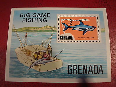 Grenada - Big Game Fishing - Minisheet - Umm - Excellent Condition