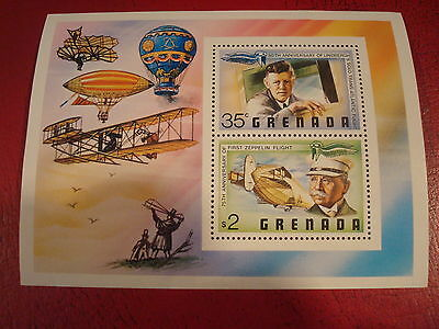 Grenada - Air Transport - Minisheet - Umm - Excellent Condition