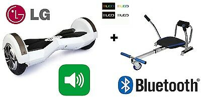 Overboard Lg 8 Smart Monopattino Elettrico Pedana Scooter Bluetooth + Go-Kart