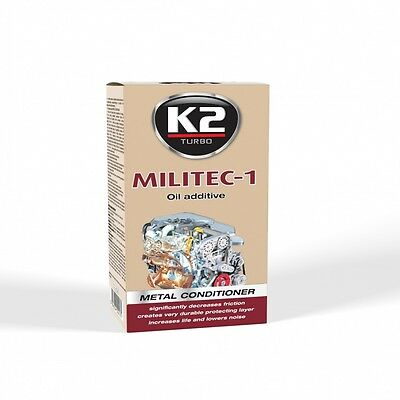 Synthetic oil additive. K2 MILITEC-1 250ml