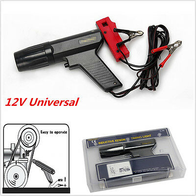 Car 12V Ignition Test Engine Timing Light Gun Cylinder Detector Power Tester New