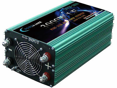 3000W LF Pure Sine Power Inverter 12V to 240V for  Car Power/Battery Charge-AU