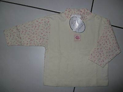 T-shirt manches longues fille 6-9 mois neuf
