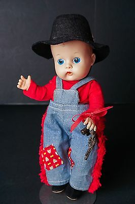 SALE Vogue GINNETTE BROTHER JIMMY  Painted Eye DOLL 1958 Original Outfit #4152