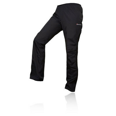 Montane Atomic Womens Black Waterproof Outdoors Trekking Pants Bottoms