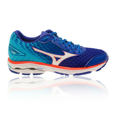 Mizuno Wave Rider 19 Womens Cushioned Running Sports Shoes Trainers Pumps